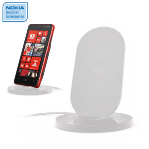 Nokia Lumia 820 / 920 Qi Wireless Charging Stand - DT-910WH - White
