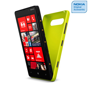 Nokia Original Lumia 820 Wireless Charging Shell CC-3041YL - Yellow