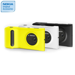 Nokia PD-95G Camera Grip Battery Case for Nokia Lumia 1020 - Yellow