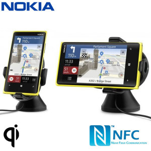 Nokia Qi Wireless Charging NFC Car Holder CR-200