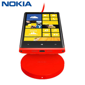 Nokia Qi Wireless Charging Plate - Red