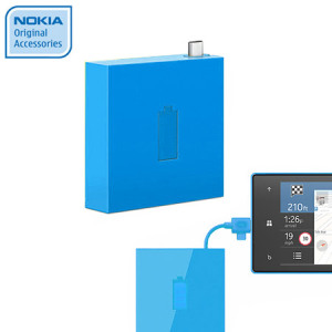 Nokia Universal Portable Micro USB Charger DC-18 - Cyan