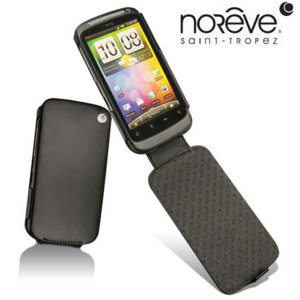 Noreve Tradition A Leather Case for HTC Desire S - Black