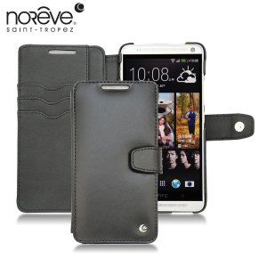 Noreve Tradition B Leather Case for HTC One Max - Black