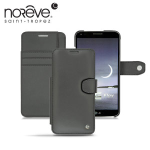 Noreve Tradition B LG G Flex Leather Case - Black