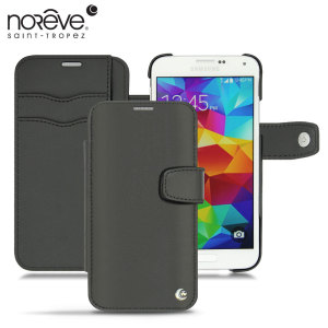 Noreve Tradition B Samsung Galaxy S5 Leather Case - Black