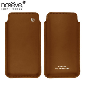 Noreve Tradition C Leather Case for HTC One M7 - Brown