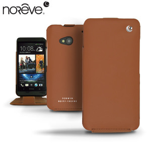Noreve Tradition Leather Case for HTC One M7 - Brown