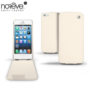 Noreve Tradition Leather Case for iPhone 5S / 5 - White