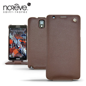 Noreve Tradition Leather Case For Samsung Galaxy Note 3 - Chestnut