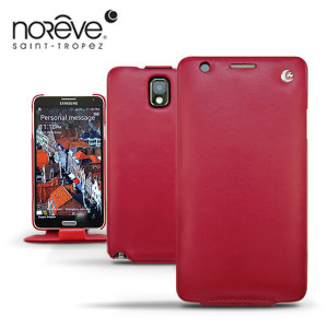 Noreve Tradition Leather Case For Samsung Galaxy Note 3 - Red