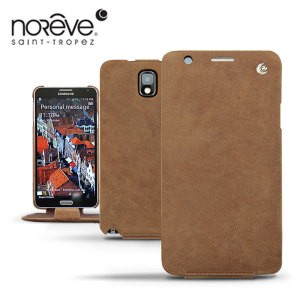 Noreve Tradition Leather Case For Samsung Galaxy Note 3 - Sandy