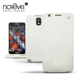 Noreve Tradition Leather Case For Samsung Galaxy Note 3 - White