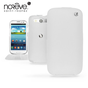 Noreve Tradition Leather Case for Samsung Galaxy S3 - White