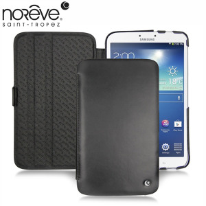 Noreve Tradition Leather Case for Samsung Galaxy Tab 3 7.0 - Black