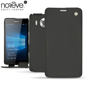 Noreve Tradition Lumia 950 Leather Case - Black