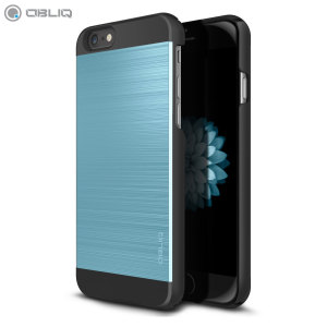 Obliq Slim Meta II Series iPhone 6S / 6 Case - Black / Blue