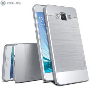 Obliq Slim Meta Samsung Galaxy A5 2015 Case - Satin Silver