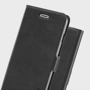 Odoyo Spin Folio iPhone 7 Plus Case - Sesame Black