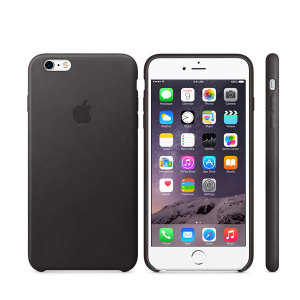 Official Apple iPhone 6S Plus / 6 Plus Genuine Leather Case - Black