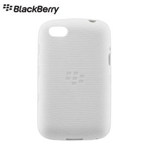 Official BlackBerry 9720 Soft Shell Case - White