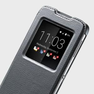 Official Blackberry DTEK50 Smart Flip Case - Black