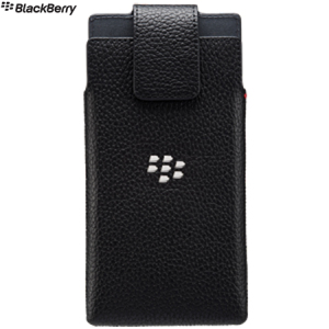 Official Blackberry Leap Leather Swivel Holster