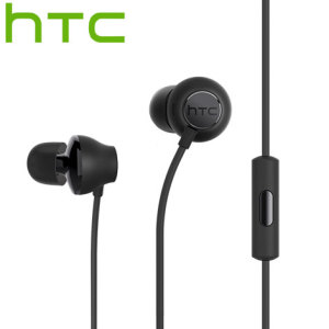 Official HTC 10 Hi-Res Earphones - Black