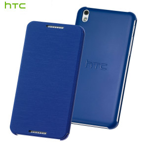 Official HTC Desire 610 Flip Case - Blue