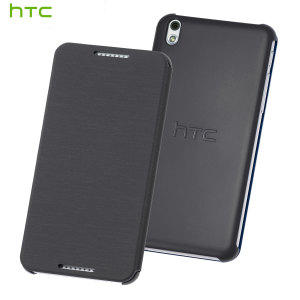Official HTC Desire 610 Flip Case - Grey