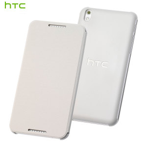 Official HTC Desire 610 Flip Case - White