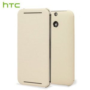 Official HTC One E8 Flip Case - White
