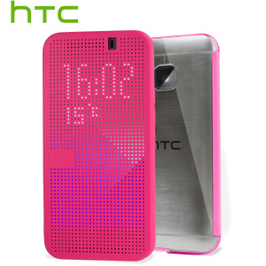 Official HTC One M9 Dot View Ice Premium Case - Candy Floss