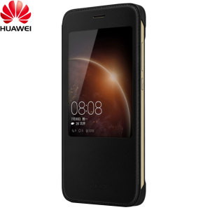 Official Huawei G8 View Flip Case - Black