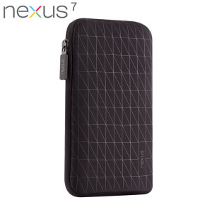 Official Nexus 7 2013 / 2012 Sleeve - Black / Grey