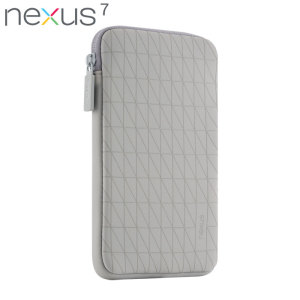 Official Nexus 7 2013 / 2012 Sleeve - Grey / White