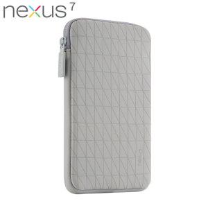Official Nexus 7 2013 / 2012 Sleeve - Grey / White