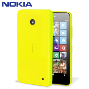 Official Nokia Lumia 630 / 635 Shell - Yellow