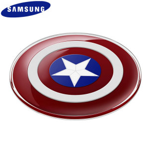 Official Samsung Avengers Qi Wireless Charger Pad - Captain America