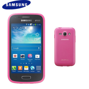 Official Samsung Galaxy Ace 3 Protective Cover Plus - Pink
