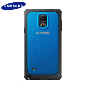 Official Samsung Galaxy Note 4 Protective Cover Hard Case - Blue