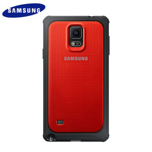 Official Samsung Galaxy Note 4 Protective Cover Hard Case - Red