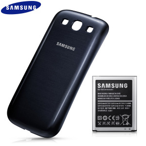 Official Samsung Galaxy S3 Extended Battery Kit - 3000mAh - Blue