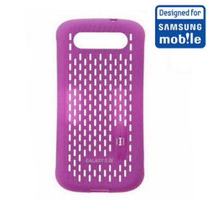 Official Samsung Galaxy S3 Mesh Vent Case - Purple