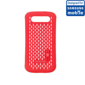 Official Samsung Galaxy S3 Mesh Vent Case - Red