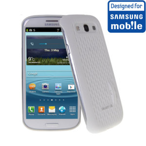 Official Samsung Galaxy S3 Mesh Vent Case - White