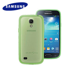 Official Samsung Galaxy S4 Mini Protective Cover Plus - Lime Green