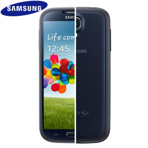 Official Samsung Galaxy S4 Protective Hard Case Cover Plus - Blue