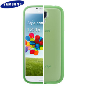 Official Samsung Galaxy S4 Protective Hard Case Cover Plus - Green