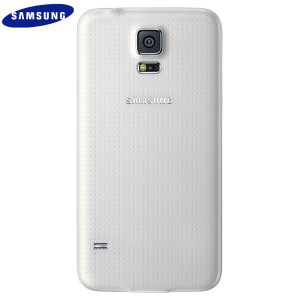 Official Samsung Galaxy S5 Back Cover - Shimmery White